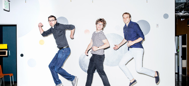 Product designer Chris Connolly, and software engineers Thomas Dimson and Alex Karpenko. Photo: Ariel Zambelich/WIRED