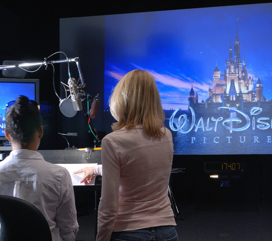 Stage B – the birthplace of the creative voice track of many animated films including Cars 2, Toy Story 3, Tangled, Rango and many more, is also the ADR home of top industry filmmakers.